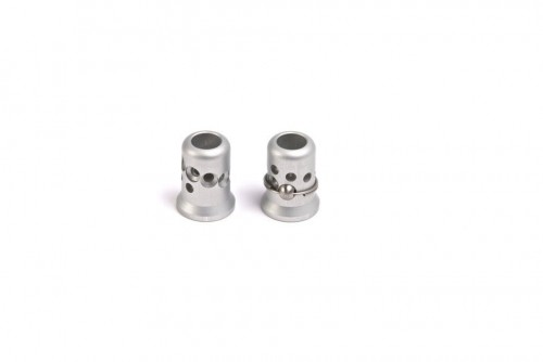 EVO Aluminium Straight Top Screw Silver