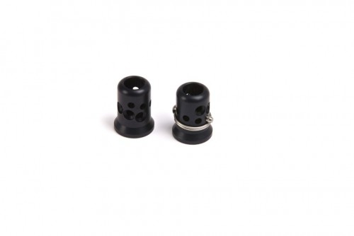 EVO Aluminium Straight Top Screw Black